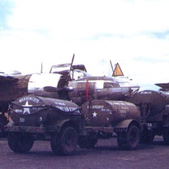 Type A3 fuel trailer small